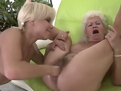 Passionate lesbian act with nasty girlfriends named Effie and Lisa