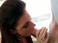 Sex starved milf India Summer is despairing for a dude to fuck her hard, and when she hooks up with Mark Wood she wont let him go until he busts her every hole!