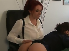 Kylie Ireland and Sinn Sage are willing to have some proper joy at work instead of just wasting time grinding. Watch the redhead explore Sinns gorgeous taut body here!