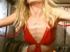 The woman in the trailer sucks cock chap