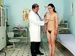 Mature Helena gradual bawdy cleft exam