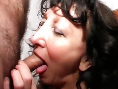 Bent floozy fuck her cum-hole