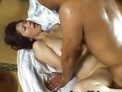 Shouda Asian adult honey gets it doggy part3
