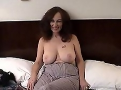 MILF slut gets ribald with hairy man