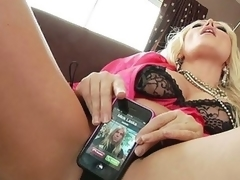For a sex addict like Diana Doll, even a cellphone call takes on sexual undertones. When her phone rings it vibrates and that often means her 1st thought is to fuck it... lengthy previous to this babe ever thinks to answer it! Having her phone number is like foreplay with Diana!